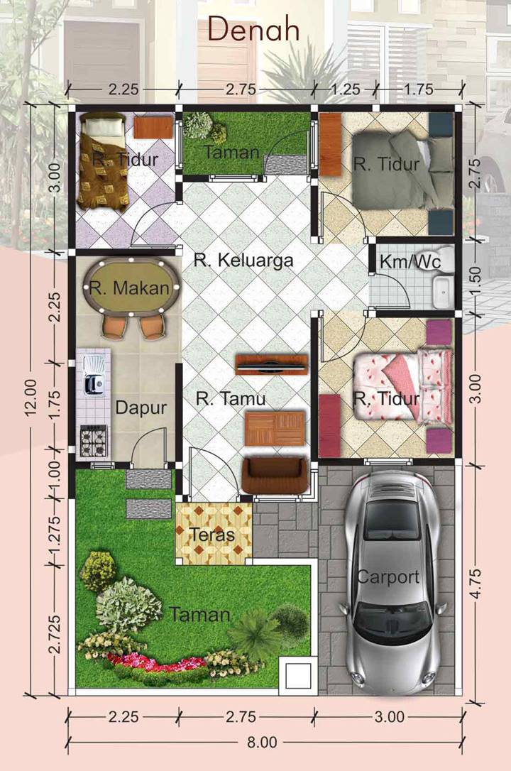 Denah Nava Residence