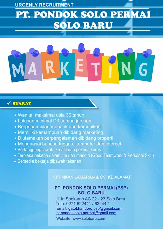 Loker Marketing PSP 2